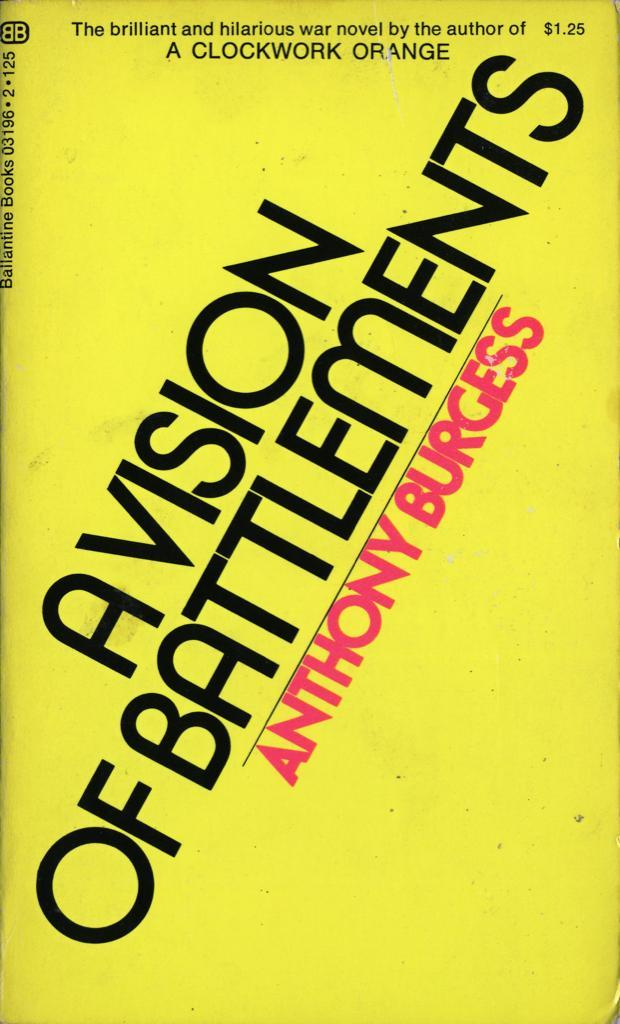 Anthony Burgess paperbacks (Ballantine Books) 2