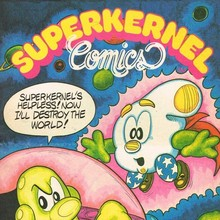 <cite>Superkernel Comics </cite>logo
