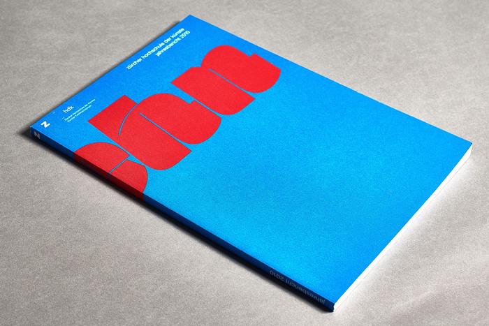 Jahresbericht 2010, Zürcher Hochschule der Künste 1