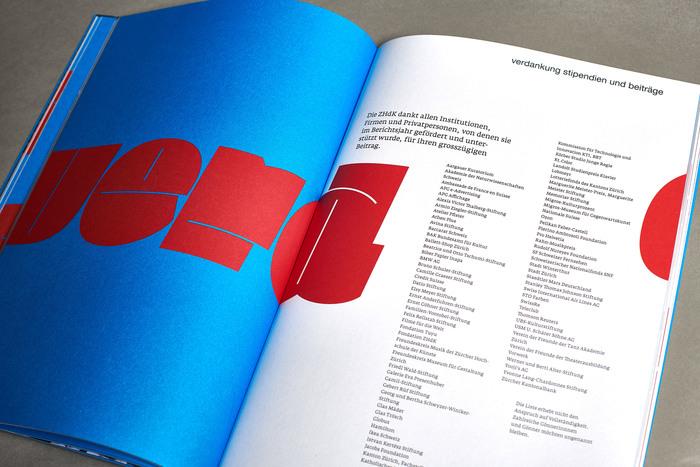 Jahresbericht 2010, Zürcher Hochschule der Künste 4