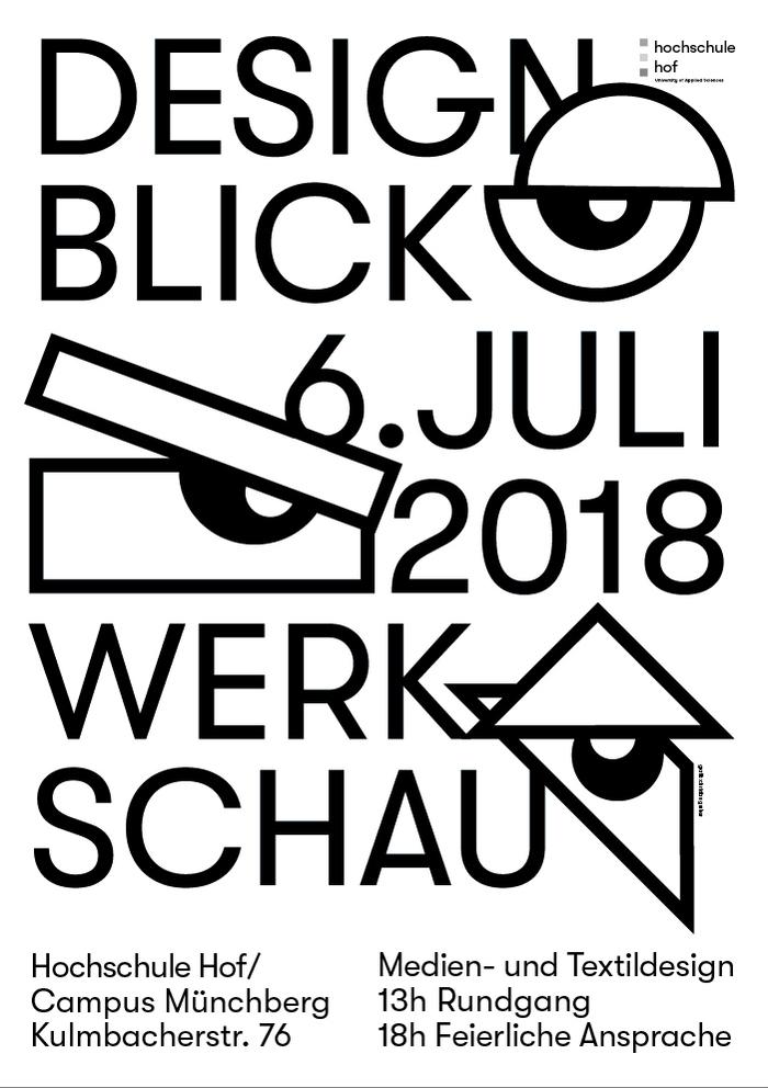 Designblick / Werkschau 2018 2