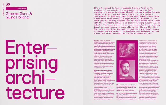 Inside Architectural Review Asia Pacific, Issue 129, Autumn 2013 edition.