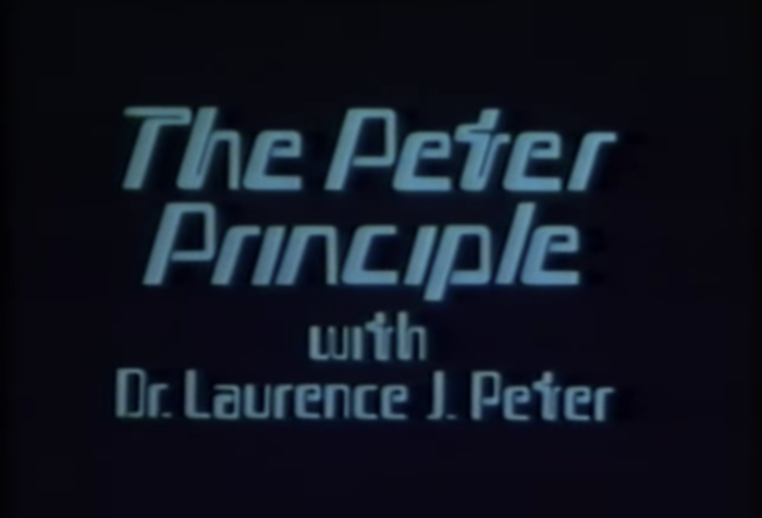 The Peter Principle (BBC) 1