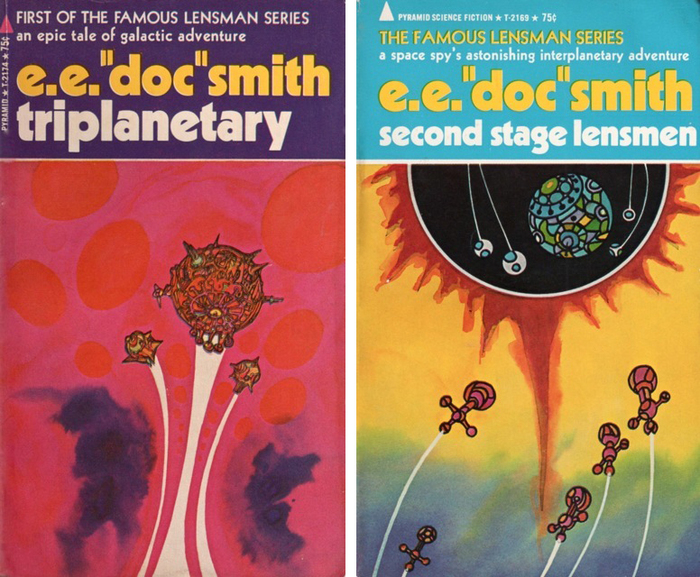 Triplanetary and Second Stage Lensmen (1970)