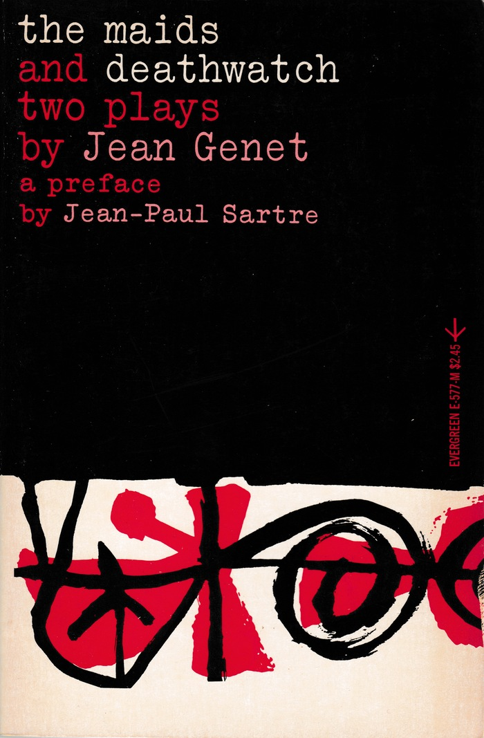 The Maids and Deathwatch by Jean Genet (Evergreen)
