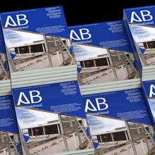 <cite>A-B international</cite> magazine