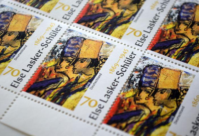 Else Lasker-Schüler stamp 3