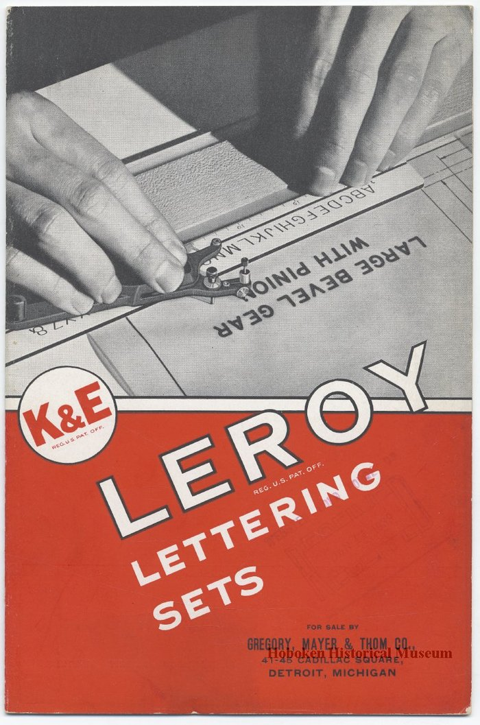 Leroy Lettering Sets Catalog (1939) 1