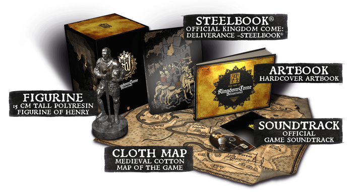 Web graphic presenting a map, books and other fan merchandise.