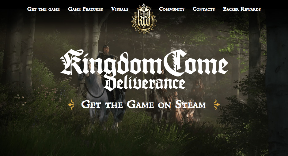 Kingdom Come: Deliverance - Fonts In Use