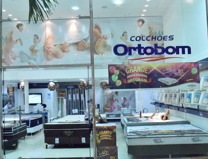 At a store in São Luís Shopping.