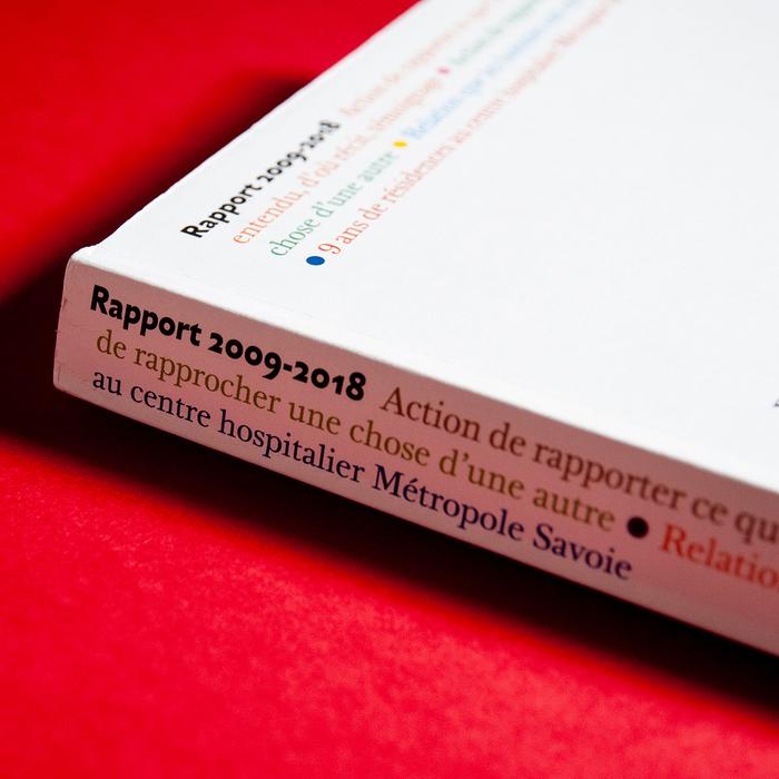 Rapport 2009–2018. 9ans de résidences au centre hospitalier Métropole Savoie 8