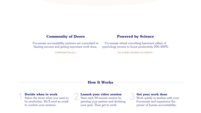 Focusmate website 3