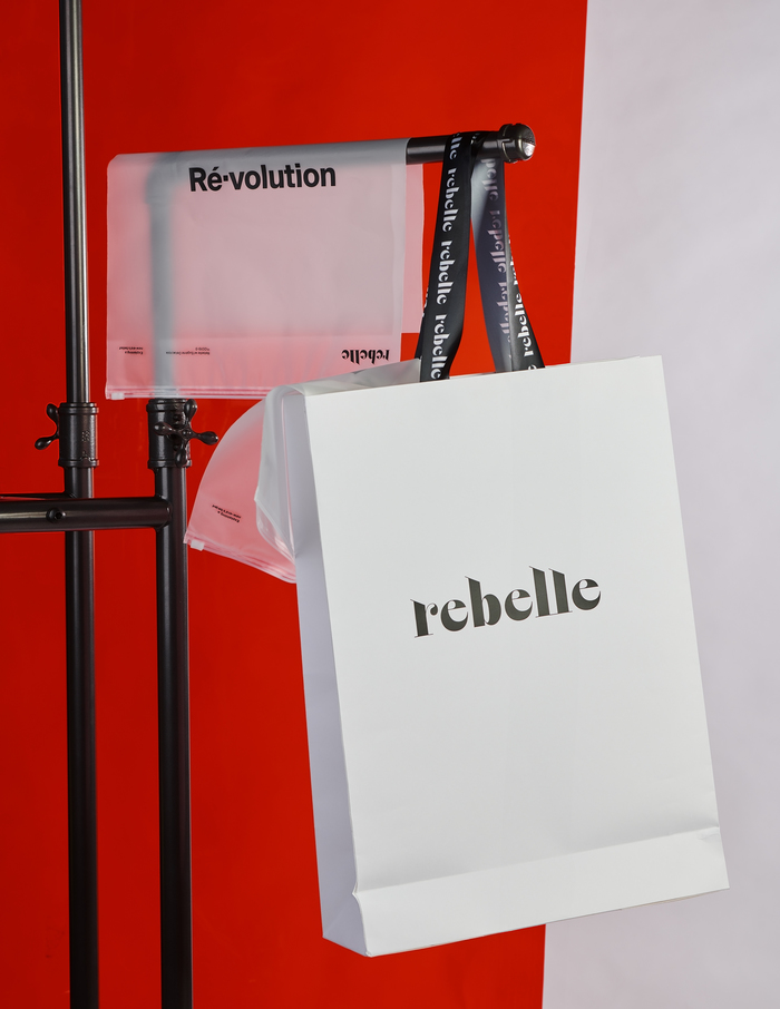 "Using imagery is the secondary approach for Rebelle to communicate with its audience. For Rebelle's first season (""Rebelle Collection"" and ""Ré•volution"" Collection), it is applying paintings and visual elements from the Romanticism period to imply that rebellions have occurred throughout human history. Each period has its own type of rebellion."