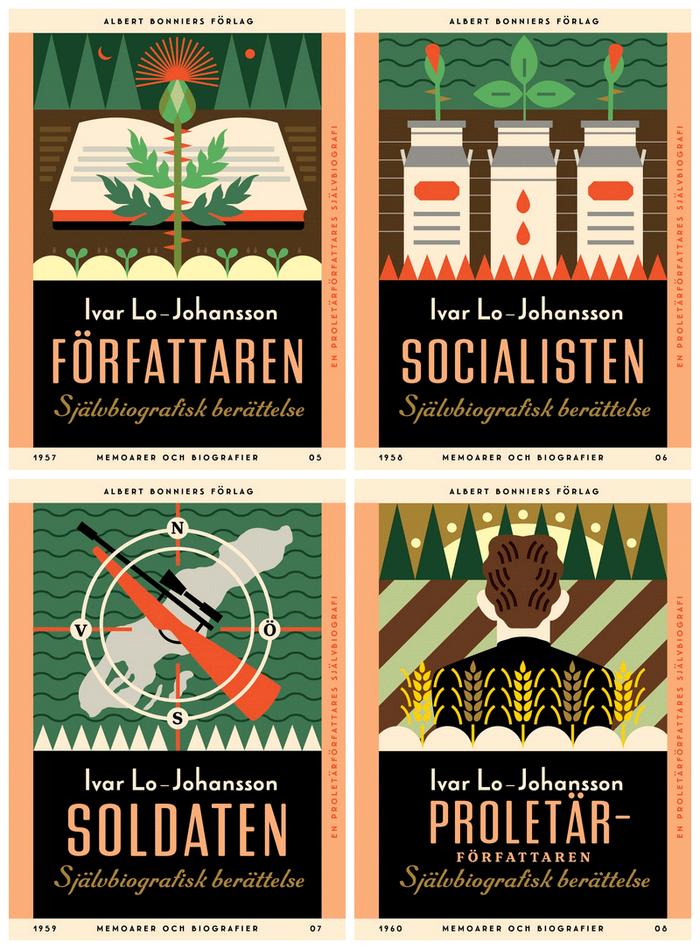 Ivar Lo-Johansson series, Albert Bonniers Förlag 2