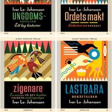 Ivar Lo-Johansson series, Albert Bonniers Förlag
