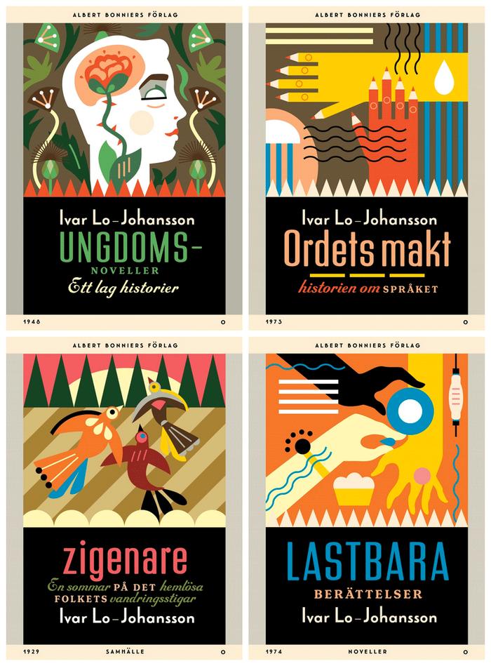 Ivar Lo-Johansson series, Albert Bonniers Förlag 4