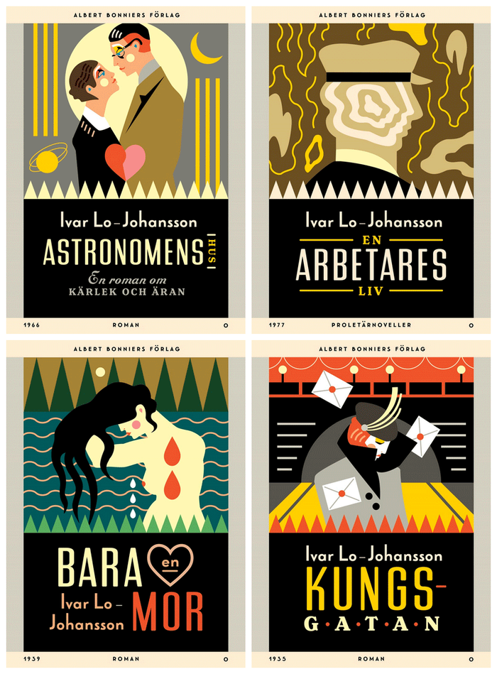 Ivar Lo-Johansson series, Albert Bonniers Förlag 5