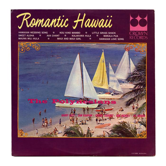 The Polynesians – Romantic Hawaii album art