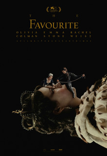 <cite>The Favourite</cite> movie poster