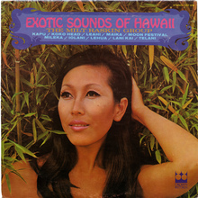 The Milt Raskin Group – <cite>Exotic Sounds Of Hawaii</cite> album art