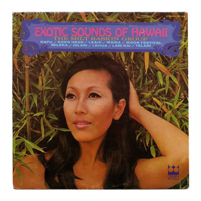The Milt Raskin Group – Exotic Sounds Of Hawaii album art