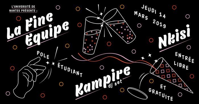 La Fine Équipe, Nkisi and Kampire 2