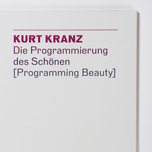 <span><span><span><span><cite>Programming Beauty – </cite></span></span>Kurt Kranz</span></span>