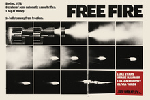 <cite>Free Fire</cite> marketing poster