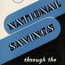 "GPO – ""National Savings through the Post Office"""