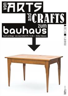 <cite>Von Arts and Crafts zum Bauhaus</cite>, Bröhan-Museum