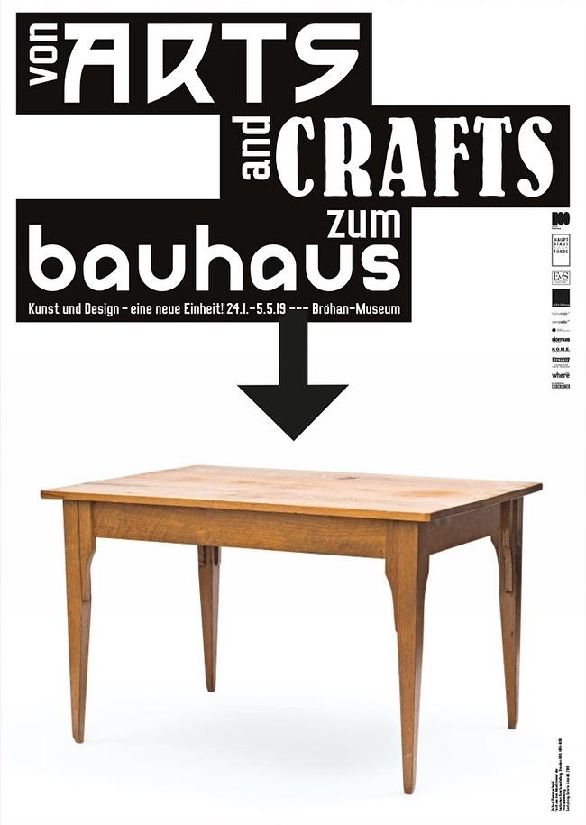 Richard Riemerschmid, table, 1899. Alternative poster design (unused).