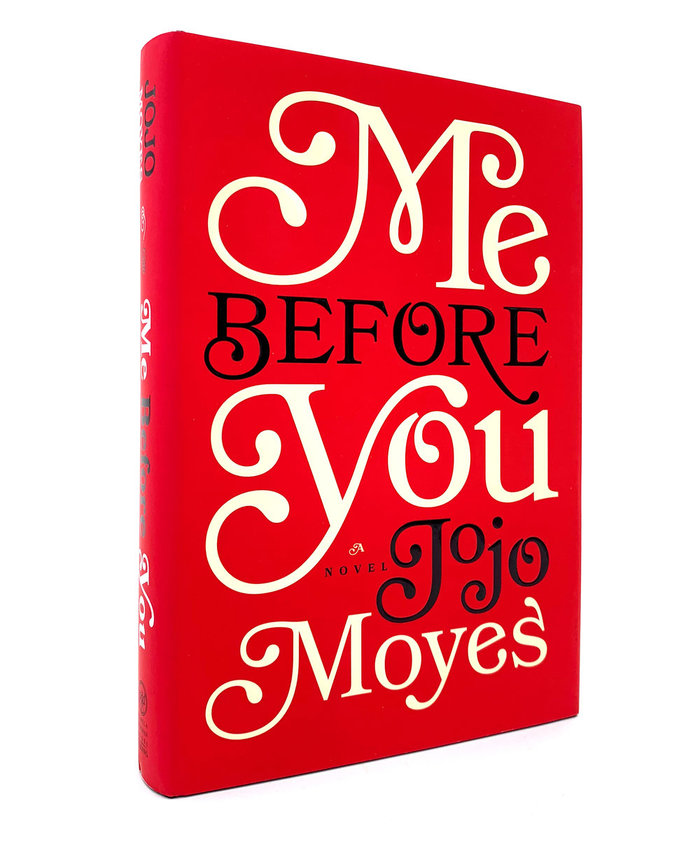 Me Before You hardcover 3