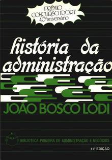 <cite>História da Administração</cite> cover