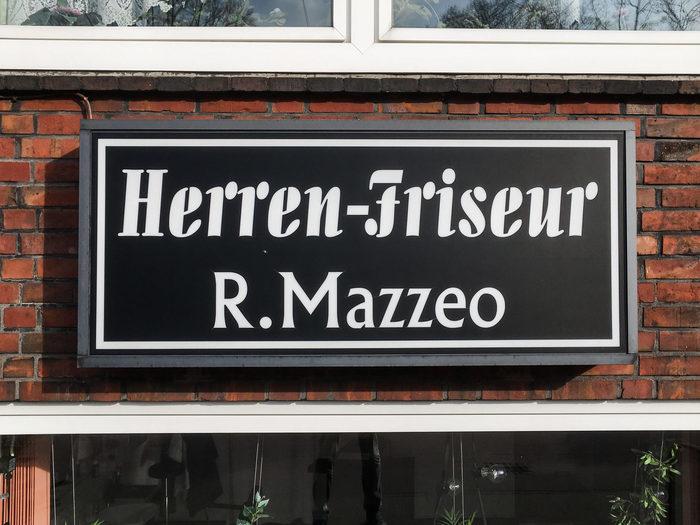 Herren-Friseur R. Mazzeo, Hamburg