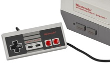 Nintendo Entertainment System consoles and components