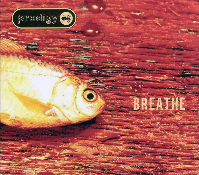 """Breathe"" followed in November 1996 as the second single. Photography by Mary Farbrother. The title is in an eroded version of  No. 2."