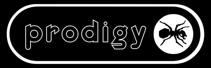 The Prodigy band logo (1996–1998) 2