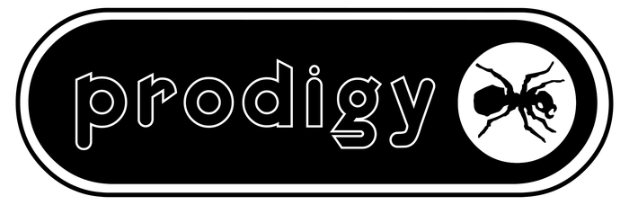 The Prodigy band logo (1996–1998) 2