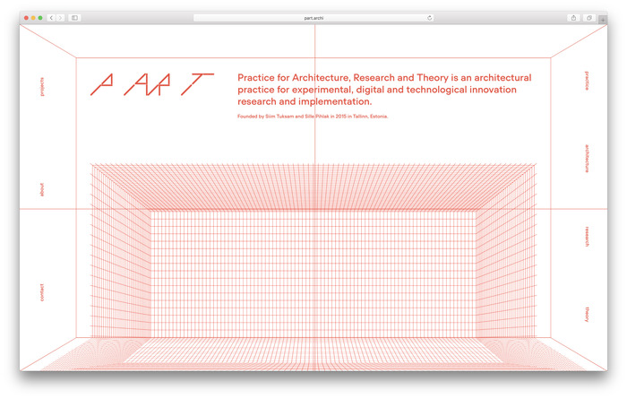 PART: Practice for Architecture, Research and Theory 6