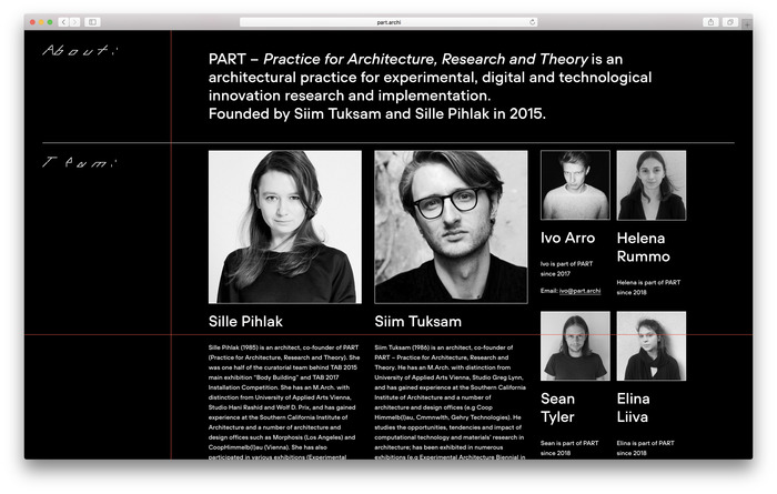 PART: Practice for Architecture, Research and Theory 12