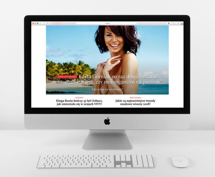Viva! website 8
