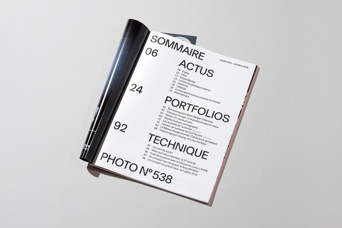 Photo magazine redesign 2