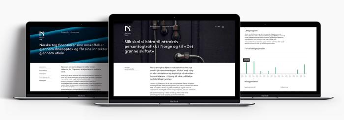 Norske tog website 2