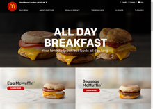 McDonald's website