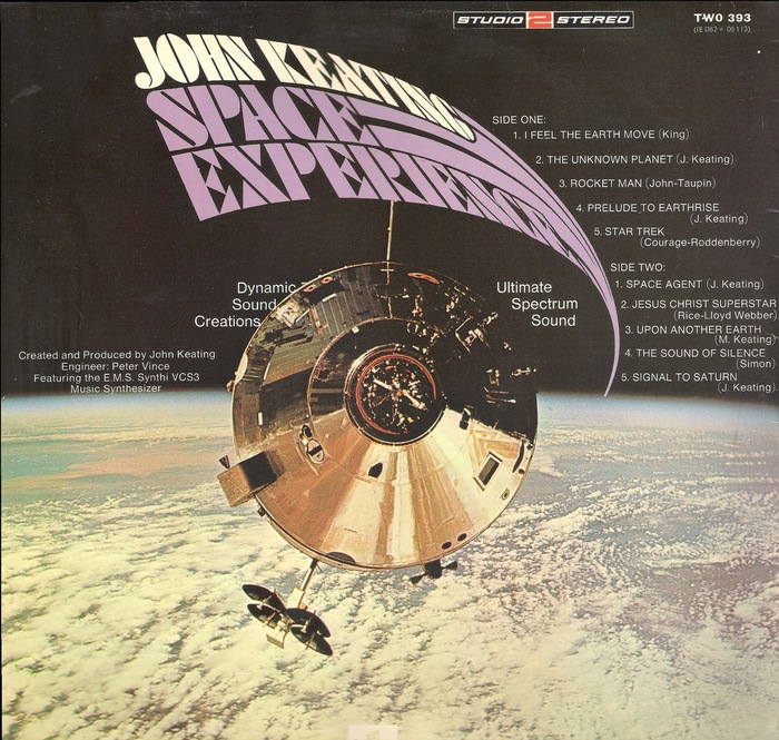Space Experience – John Keating 2