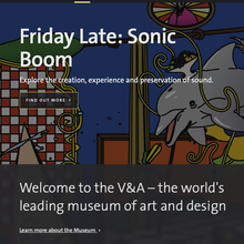 V&A website