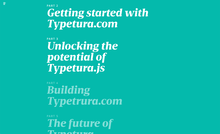 Typetura introduction articles
