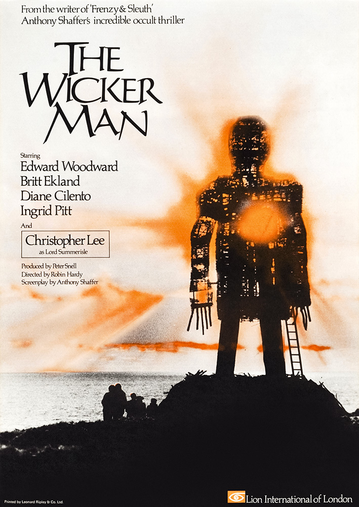 The Wicker Man 1973 Film Credits And Promotional Material