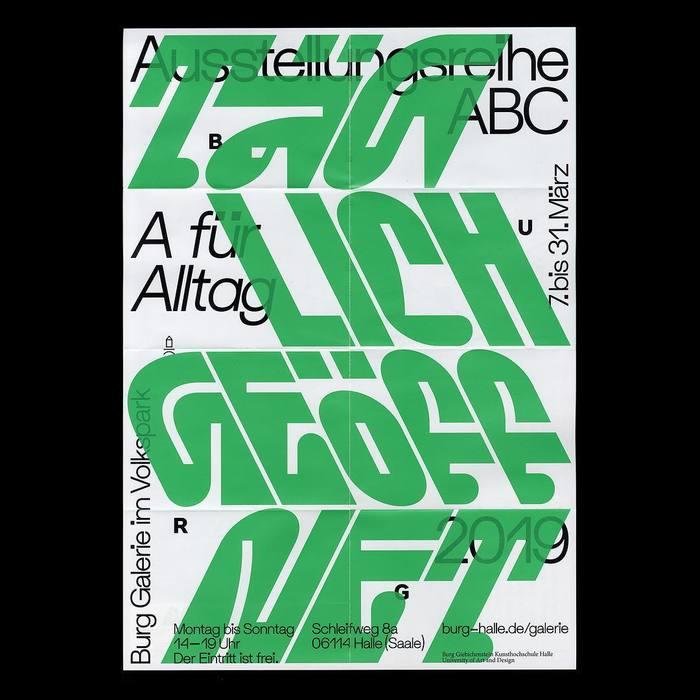 Ausstellungsreihe ABC, Burg Galerie im Volkspark 1